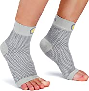 Cambivo Plantar Fasciitis Socks(2 Pairs), Ankle Support Brace with Arch Support for Men and Women, Fit for Pla