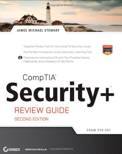 CompTIA Security+ Review Guide, Includes CD: Exam SY0-301