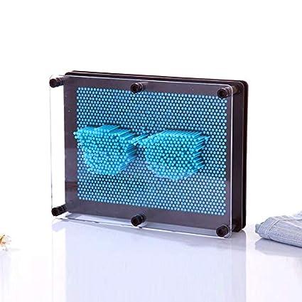 Symboat 3D Clone Forme Pin Art Jouet Sculpture Creative Modifiable Pinscreen Aiguille Moule pour Enfants Adulte