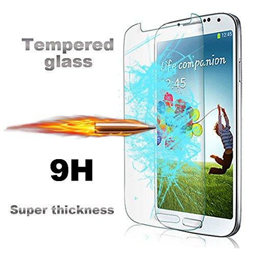 For Galaxy S4 mini , Leathlux Premium Ballistic Ultra-thin Tempered Front Glass Screen [0.26 mm] Protector Screen Cover for Samsung i9190 / i9192 Galaxy S4 mini