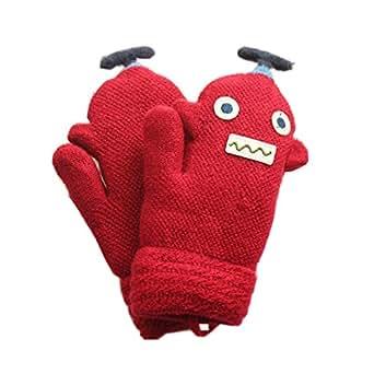 Amazon.com: ENCOCO Boys Girls Kids Winter Knitted Warm