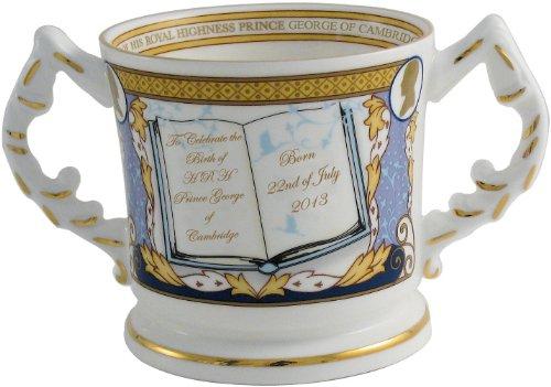 Aynsley Royal Baby 'Prince George of Cambridge' Loving Cup