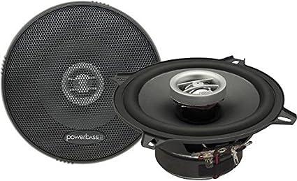 Powerbass L2-652 6-1//2 2Ω 2-Way Auto Sound L Series Full-Range Coaxial Car Speakers