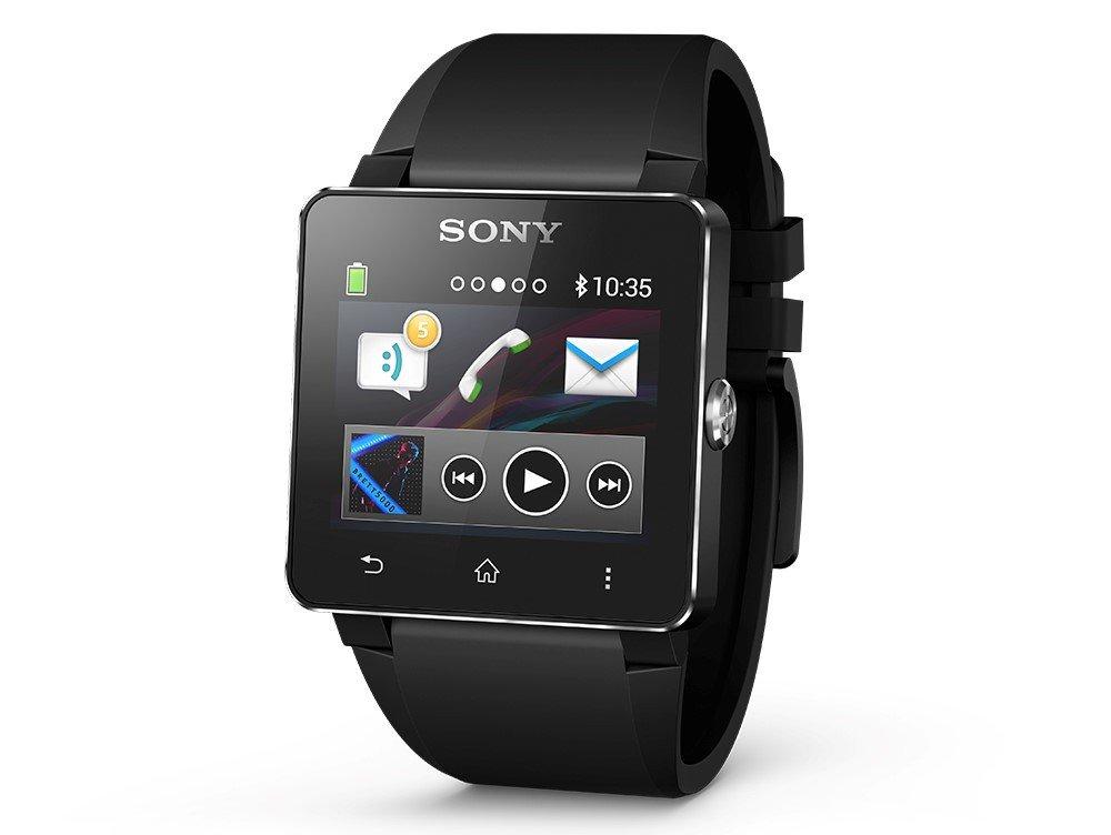 SONY MONTRE SMARTWATCH 2 BRACELET SILICONE NOIR: Sony ...