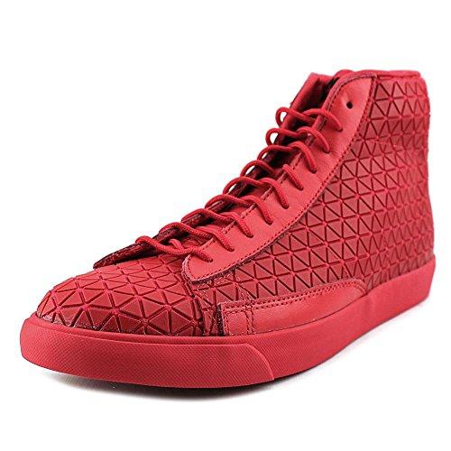 Nike Blazer Mid Qs Metriche Mens Hi Scarpe Delle Scarpe Da Tennis 744419 Università Rosso / Università Rosso