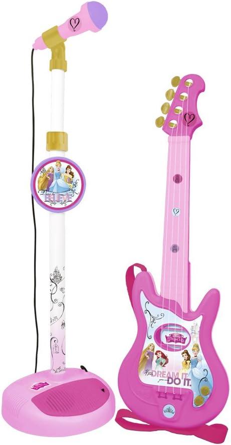 CLAUDIO REIG- Princesas Disney Micrófono y Guitarra (5279.0): Amazon.es: Juguetes y juegos