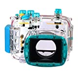 EACHSHOT 40M 130ft Waterproof Underwater Camera Case Bag For Nikon Coolpix P7100 Camera