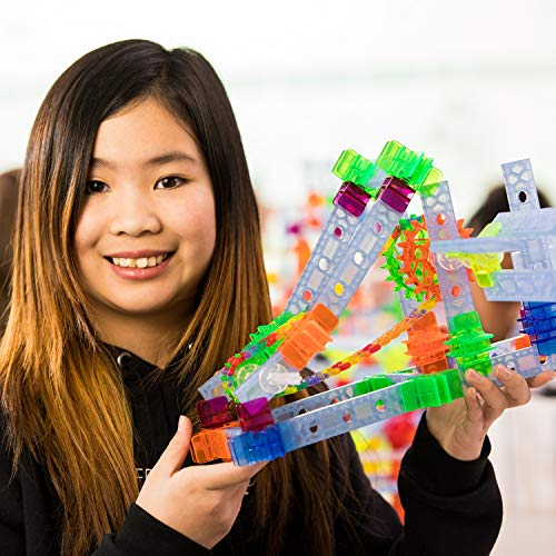 Brackitz STEAM Education Center | STEM Construction Building Block Toy | Sensory Learning Toys for Children PreK-6 | 1224 Pc Set by Brackitz (Image #2)