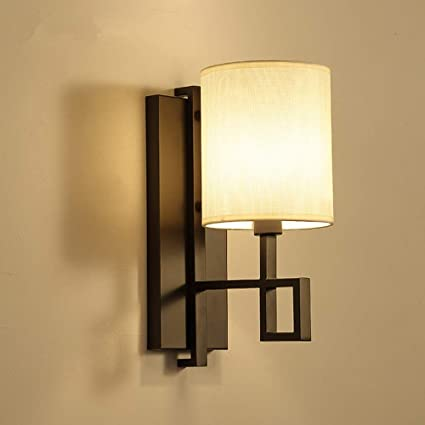 Amazon Com Zen Wall Lights With Linen Fabric Traditional