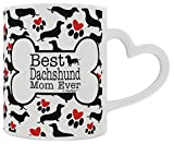 Best ThisWear Wife And Mom Coffee Mugs - Dachshund Gifts Best Daschund Mom Ever Doxie Breed Review