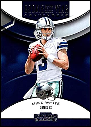 b3eb34b210c 2018 Panini Contenders Rookie of the Year Contenders Football #RYA-MW Mike  White Dallas
