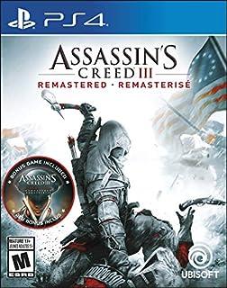 Assassin's Creed III: Remastered - PlayStation 4 (B07NPL84RQ) | Amazon price tracker / tracking, Amazon price history charts, Amazon price watches, Amazon price drop alerts