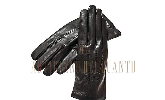 stile distintivo diversamente ampia selezione di design Guanti in pelle uomo ZGK-4122: Amazon.it: Handmade