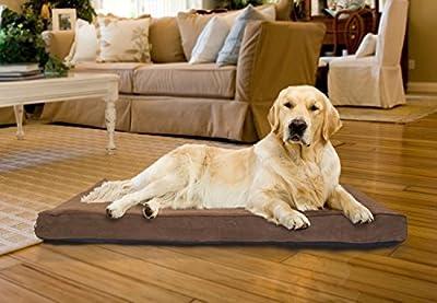 FurHaven NAP Pet Bed Egg-Crate Orthopedic Pet Mattress Deluxe Dog Bed, Water-resistant base