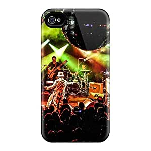 Anti-Scratch Hard Phone Case For Iphone 4/4s With Unique Design Attractive Grateful Dead Pictures VIVIENRowland
