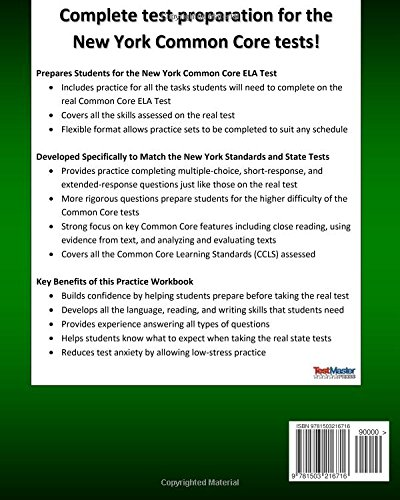 Math Worksheets common core 4th grade math worksheets : Amazon.com: NEW YORK TEST PREP Common Core ELA Practice Workbook ...