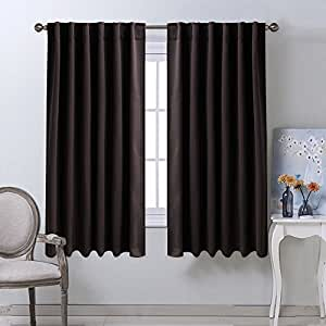 Blackout Curtains For Small Windows Toffee