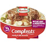HORMEL COMPLEATS Microwave Meals - Shelf Stable  - Meatloaf with Potatoes and Gravy - 9 Ounce (Pack of 6)