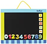 Boikido Wooden 2 Sided Magnetic Black/White Board