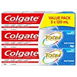 Colgate Total Whitening Toothpaste, 120 mL, 3 Pack