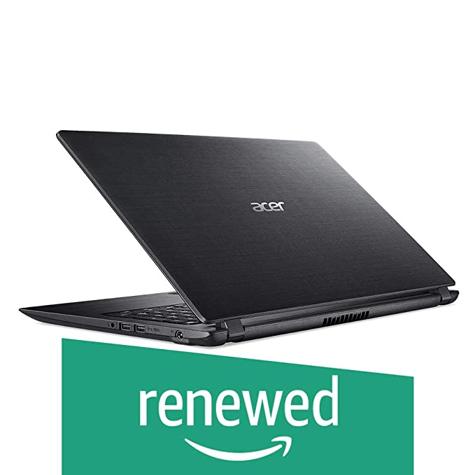 Renewed  Acer A315 31 15.6 inch Laptop  Intel Celeron 3350/2 GB/500 GB/Linux/Integrated Graphics , Black Laptops