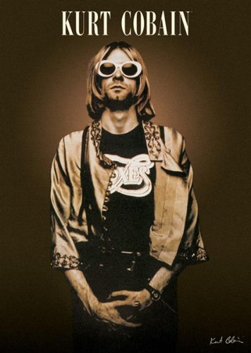 Kurt Cobain Poster - Shades - Rare New Hot