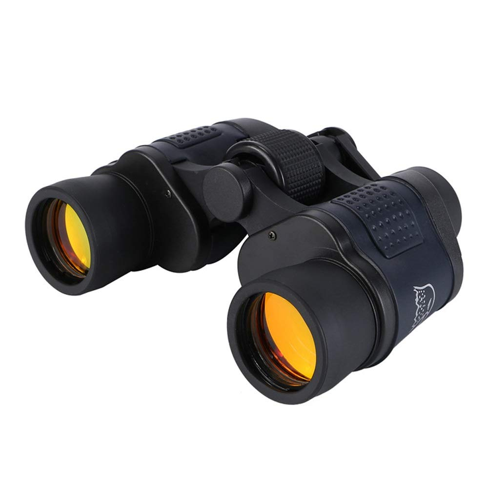 ZGQA-GQA 60x60 Binocular with Coordinates Night Vision Binoculars high Power high Definition red Film Telescope for Adult by ZGQA-GQA