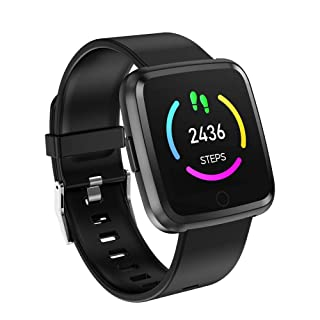 Band for Women Waterproof,Fashion Mini Fashion Sports Band with Multi Health Functions Heart Rate/Sleep Monitor Pedometer Remote Photography Running for Samsung Note 9 (Blue) Boens