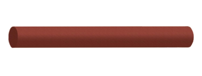 Round Coarse Dedeco 0252 Rubberized Abrasive Block//Stick Black Silicon Carbide 6 x 1