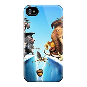Iphone 6 Case Cover - Slim Fit Tpu Protector Shock Absorbent Case (ice Age 4 Continental Drift)