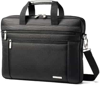 Samsonite Classic Shuttle, Fits 15.6 Inch Laptop, Black