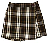 Rifle Girls Plaid 71 Skort with Elastic Waist - Size 12
