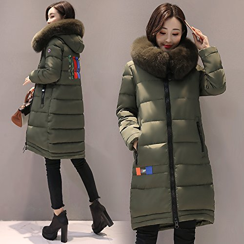Winter Cotton Ladies' Coat Coat Women Long The Section Of Cotton ArmyGreen Cotton And Duvets Xuanku And Winter Clothing Znqaw8zax