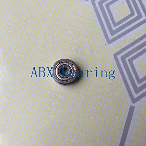 4x12x4 mm 5 PCS 440c Stainless Steel Metal Ball Bearing S604zz 604zz