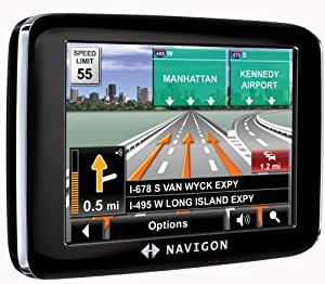 navigon 2200t 3 5 inch portable gps navigator. Black Bedroom Furniture Sets. Home Design Ideas