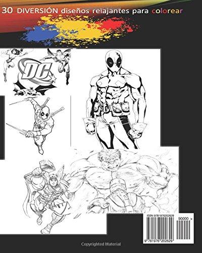 Amazon.com: DC vs Marvel Superhéroes para Niños super héroe Libro de ...