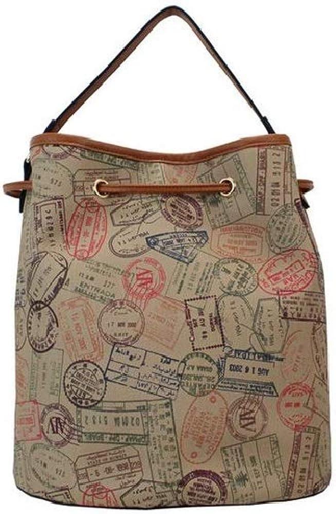 28X29X20 bucket bag by donna Safari ALVIERO MARTINI ALV Borsa a secchiello