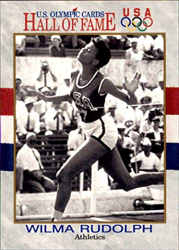 Wilma Rudolph 1991 Impel U.S. Olympic Hall of Fame HOF #7 Track and Field MLB Baseball Card