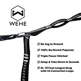 WEHE Hammock Straps Extra Strong & Lightweight,36