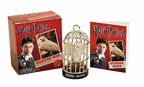 Harry Potter Hedwig Owl Kit and Sticker Book (Miniature Editions) ()
