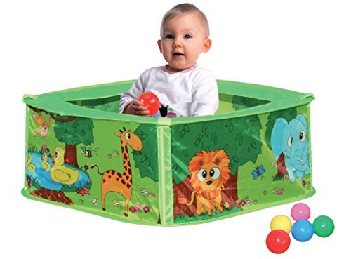 Baby Animal Play Tent Ball Pit Pool 50 Balls Children Kid Pop Up Indoor Outdoor by Boppi
