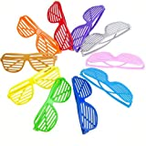 ch stroller - 10 Pairs Stylish Full Shutter Glasses/Shades/Sunglasses - Random Color