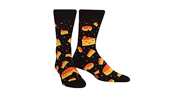 Calcetín It To Me - Calcetines De Hombre TANGA Queso Theory - Divertido Calcetines de hombre, Happy Socks stinkender Queso käsesocken T. gr.42-47 talla ...