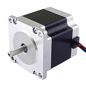 Nema 23 CNC Stepper Motor 2.8A 178.5oz.in/1.26Nm CNC Stepping Motor DIY CNC Mill