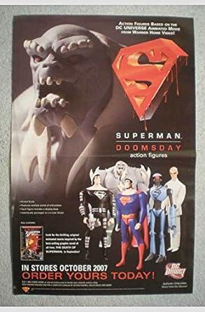 Amazon Com Dc Comics Superman Doomsday Action Figures Folded