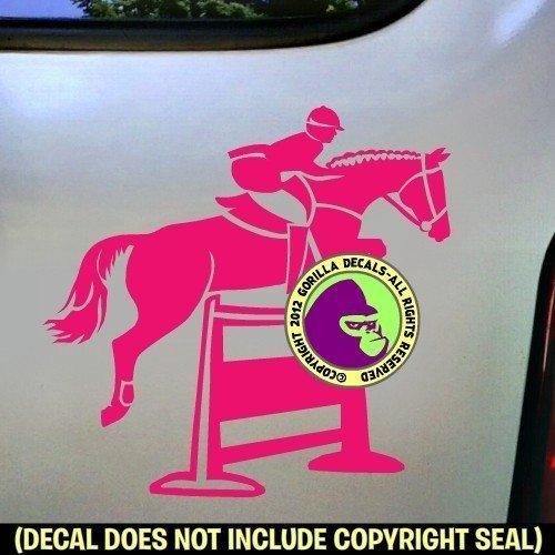 Hunter Jumper #2 Vinyl Decal Sticker B