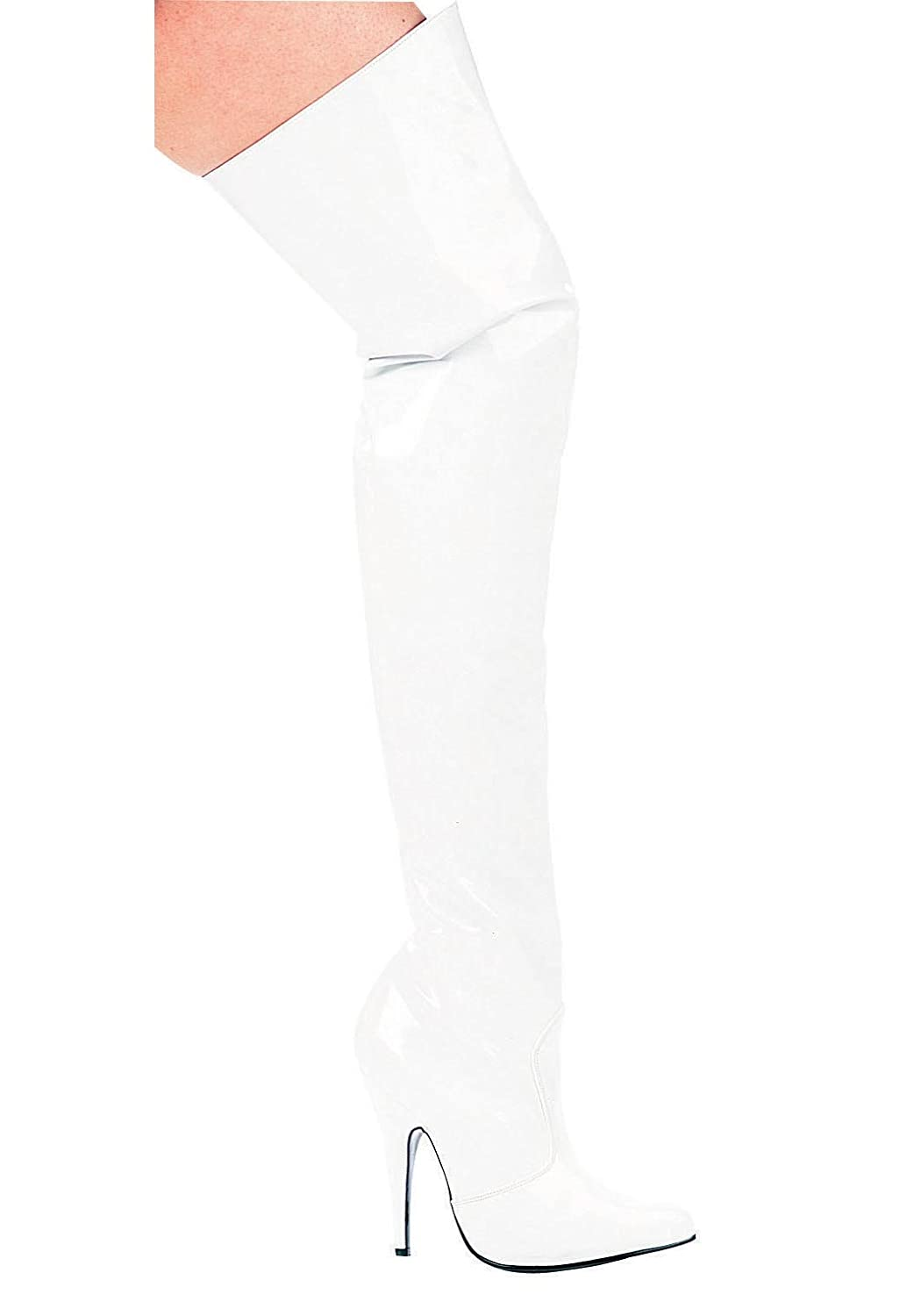 5 Inch Heel Thigh High Boots Women'S Size Shoe Ellie Shoes