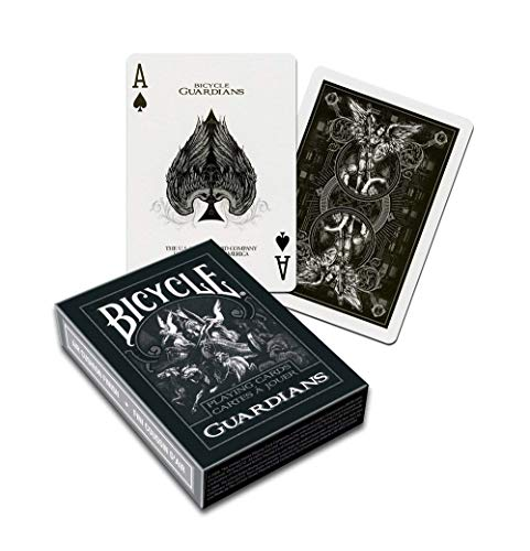 - Bicycle Guardians Poker Size Standard Index Playing Cards