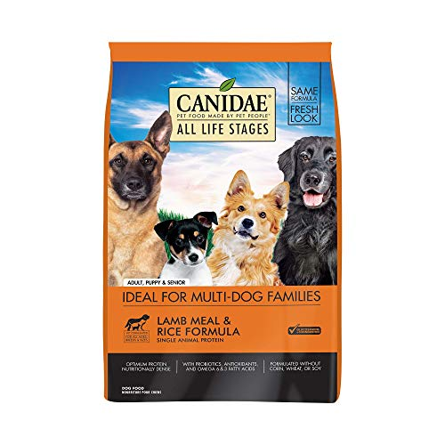 CANIDAE All Life Stages Lamb Meal & Rice Formula Dog Dry 15lb