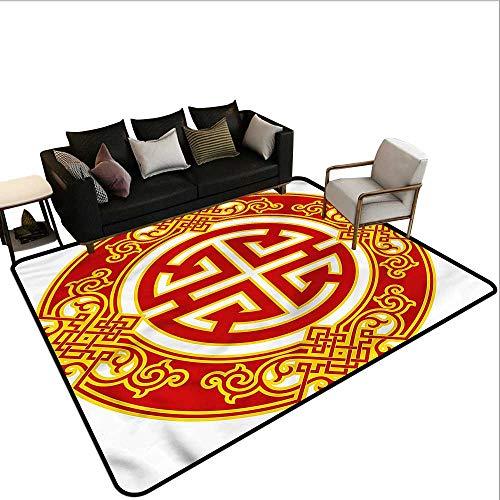 Ancient China,Kids Bedroom Mats Decorative 36